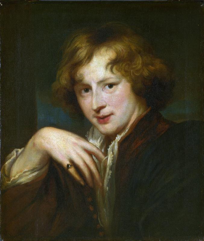 Антонис ван Дейк. Портрет художника. Копия 1750 - 1825 годов