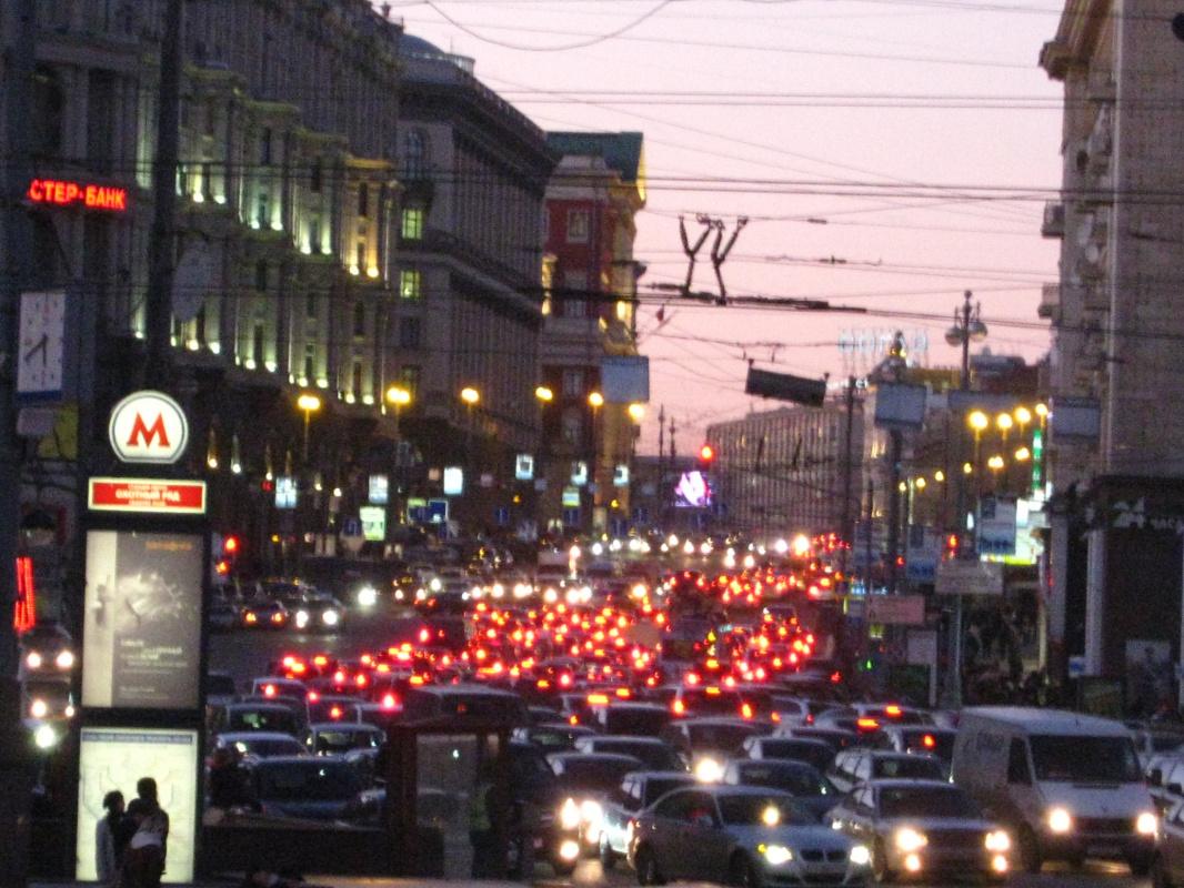 """Alexey Grishankov (Alegri). """"Evening lights"""""""