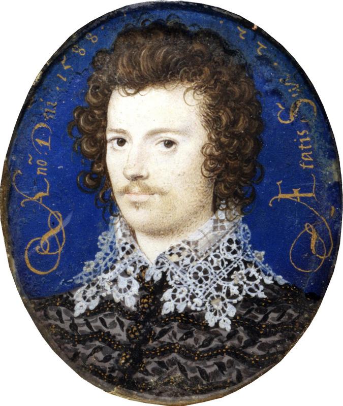 Николас Хиллиард. Портрет молодого человека, возможно Роберта Девере, второго графа Эссекса
