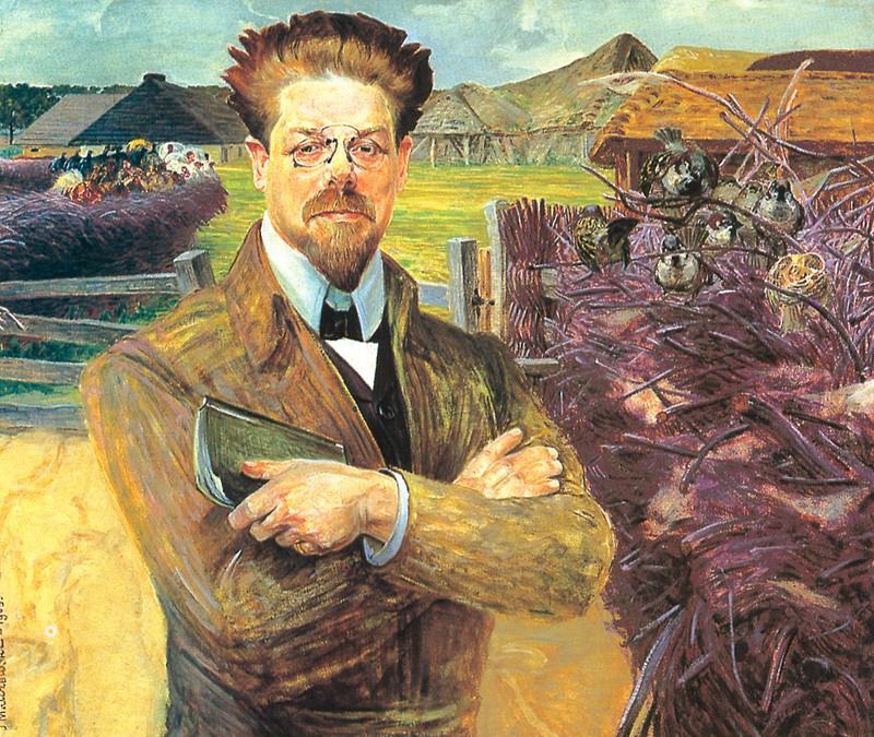 Jacek Malchevsky. Portrait of Vladislav Reymont