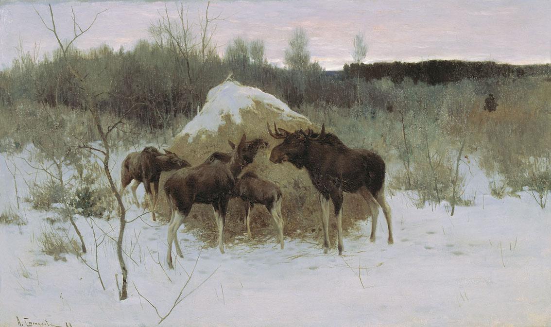 Алексей Степанович Степанов. Лоси