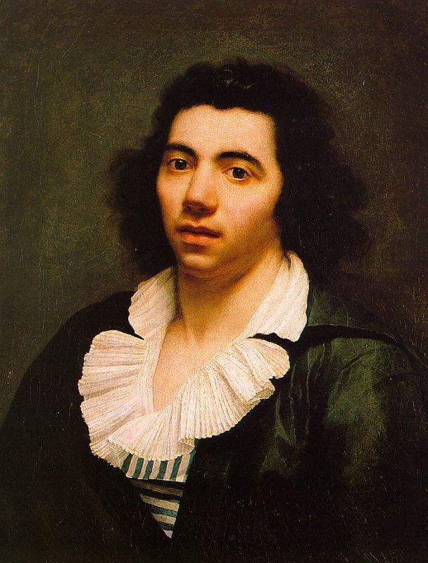 Анн-Луи Жироде-Триозон. Портрет мужчины