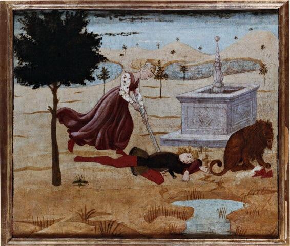 Apollonio di Giovanni. Death of Piram and Fisby
