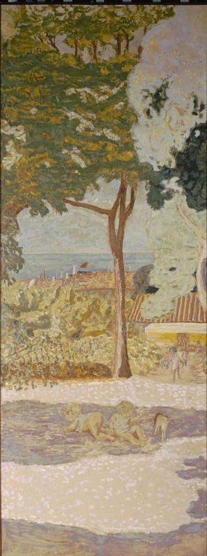 Пьер Боннар. У Средиземного моря (триптих). Центральное панно