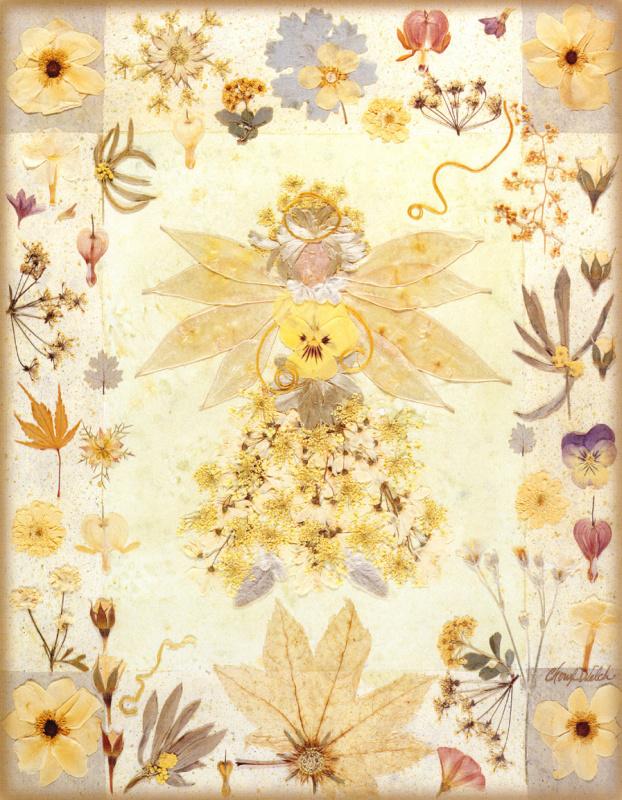 Шерил Уэлч. Цветочный мотив 11