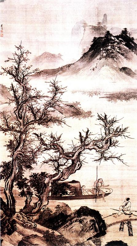 Чжун Цинь Ли. Пейзаж 062
