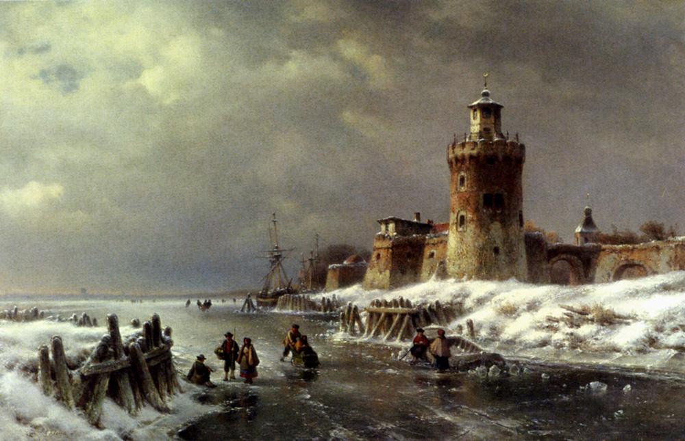 Lodewick Johannes Klein. Storm