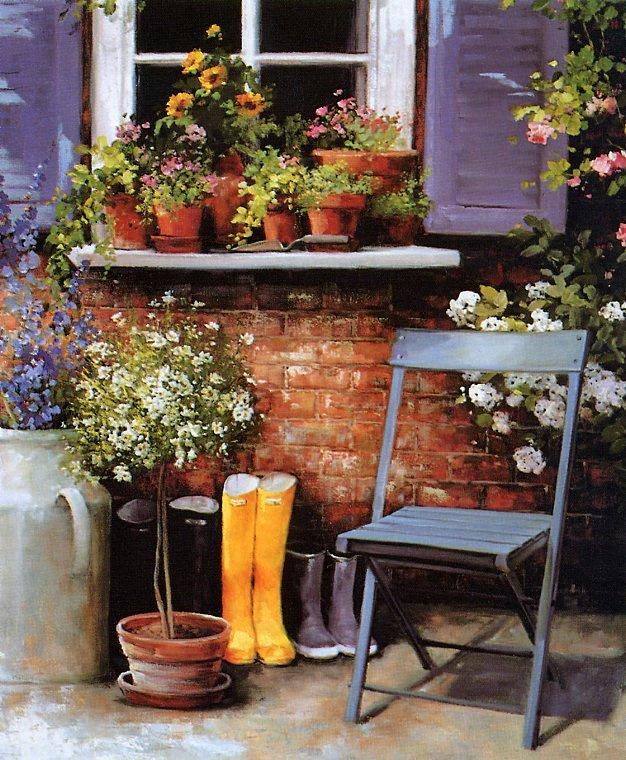Liz Auger. Little yellow boots