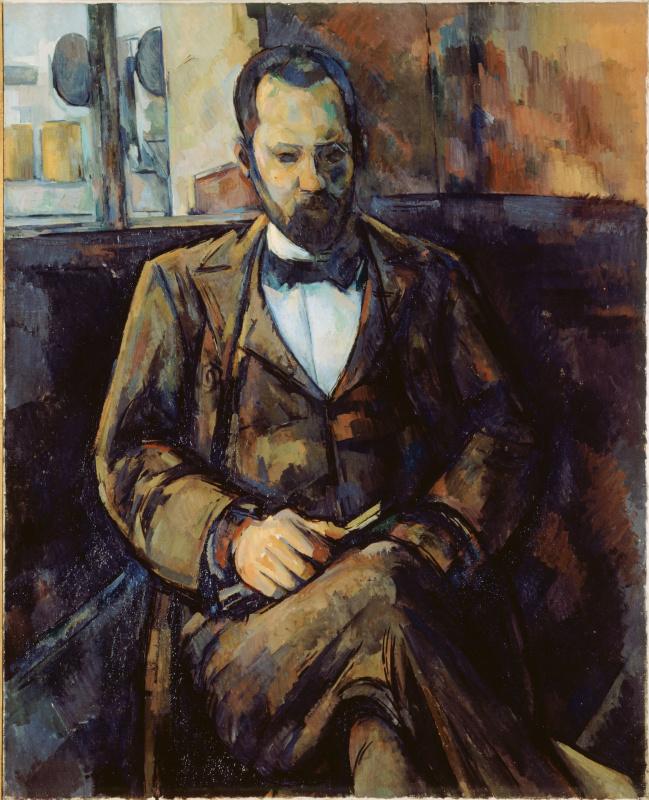 Поль Сезанн. Портрет Амбруаза Воллара