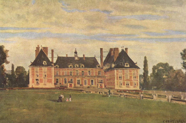 Камиль Коро. Замок Росни