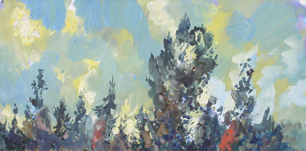 Mikhail Semenovich Trenikhin. Landscape