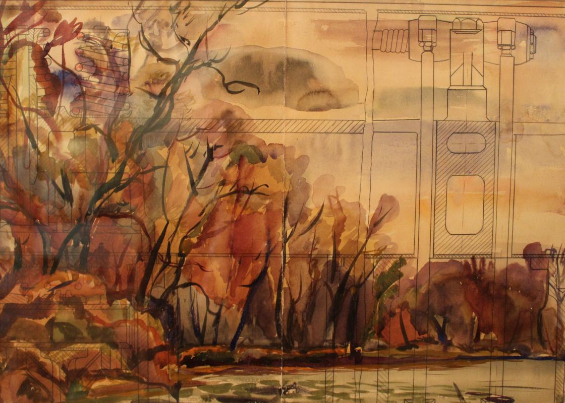 Mikhail Nikolayevich Arzhanov. Landscape