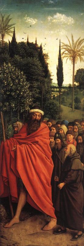 Ян ван Эйк. Святые паломники