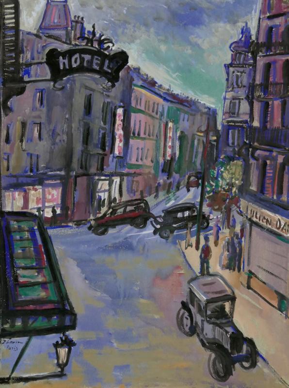 Париж. Городской пейзаж