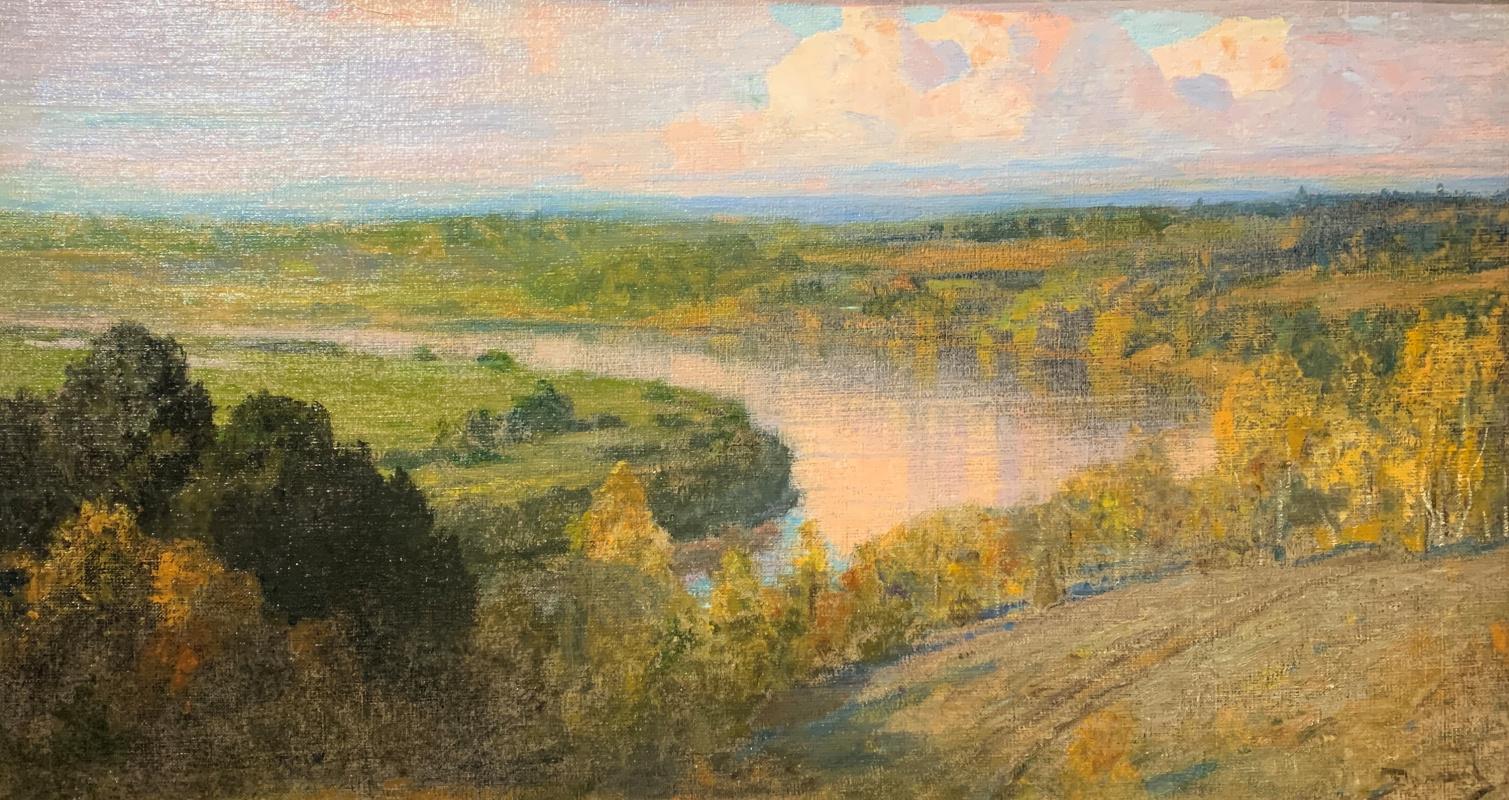 Vasily Dmitrievich Polenov. Oka. Autumn