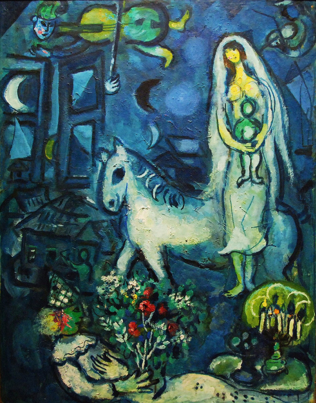 Marc Chagall. White horse