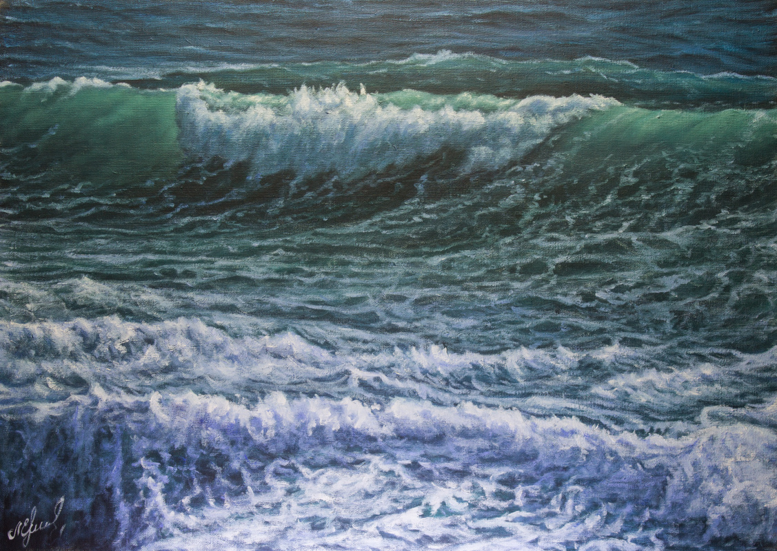 Valery Levchenko. № 585 Seascape.