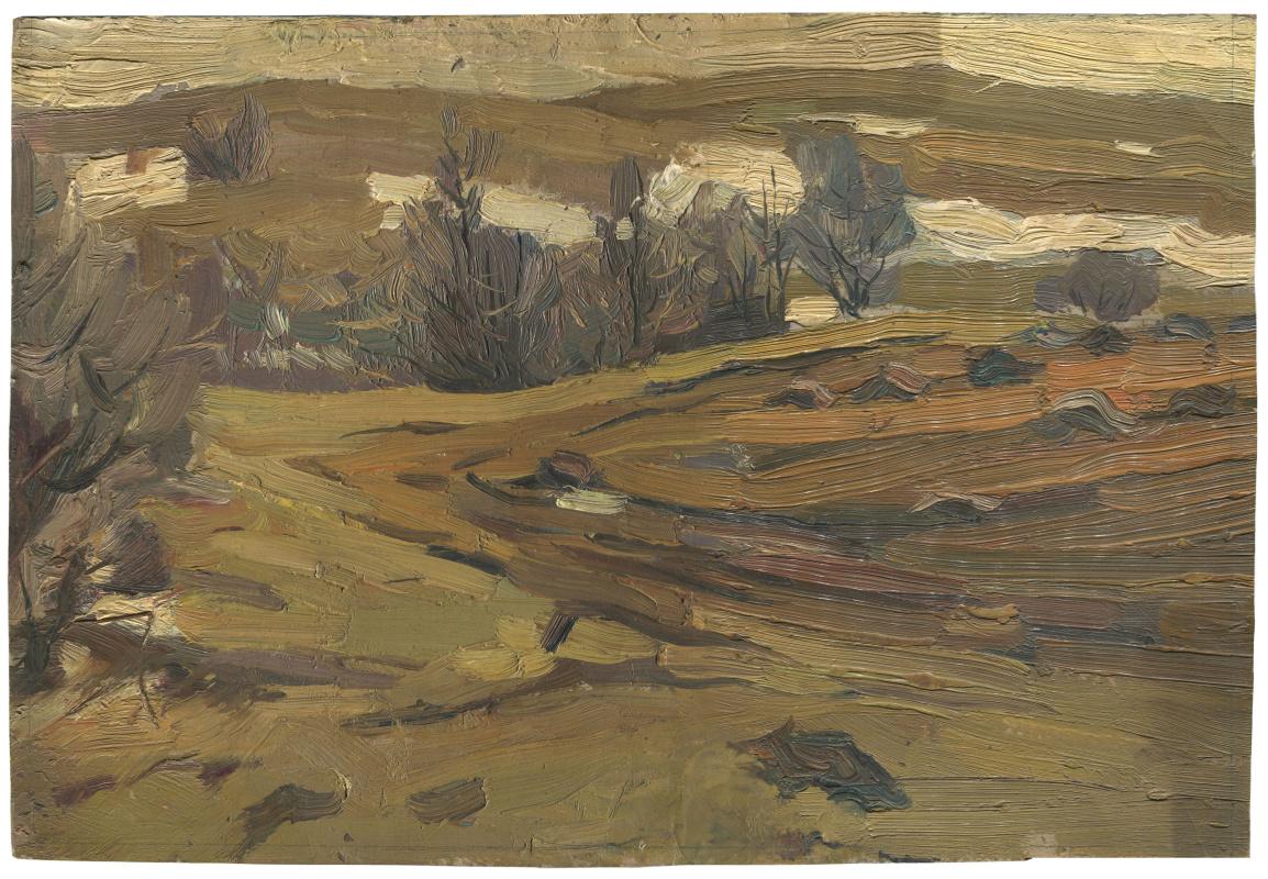 Alexandrovich Rudolf Pavlov. Study of the army spring. Leningrad region., Pargolovo, Yucca.