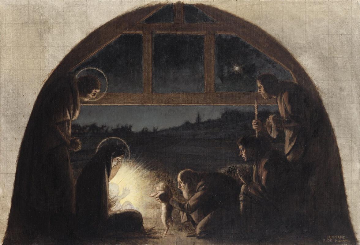 Бернар Буте де Монвель. Поклонение пастухов