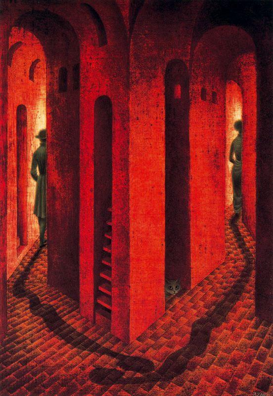 Ремедиос Варо. Красные стены