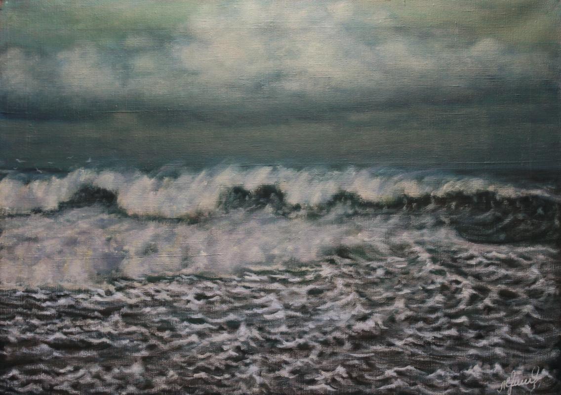 Valery Levchenko. No. 312 Before the Storm
