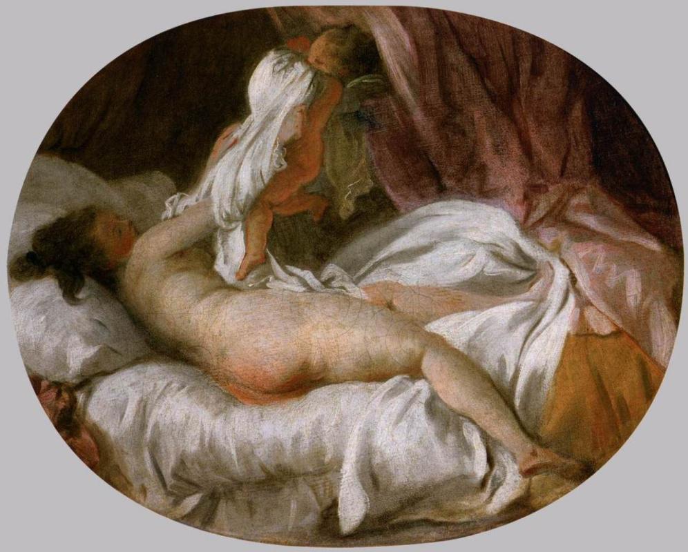 Jean-Honore Fragonard. Shirt removed