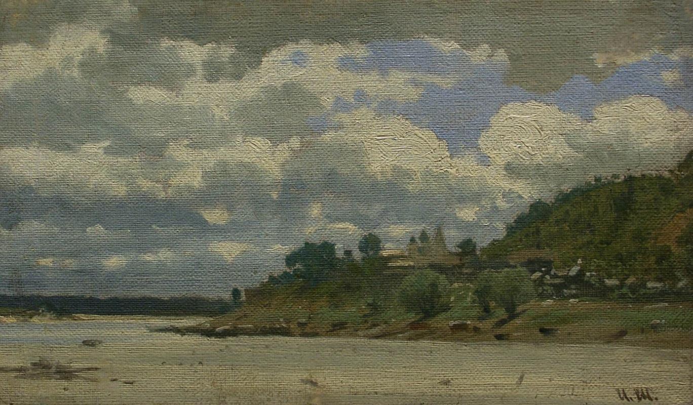 Ivan Ivanovich Shishkin. The river
