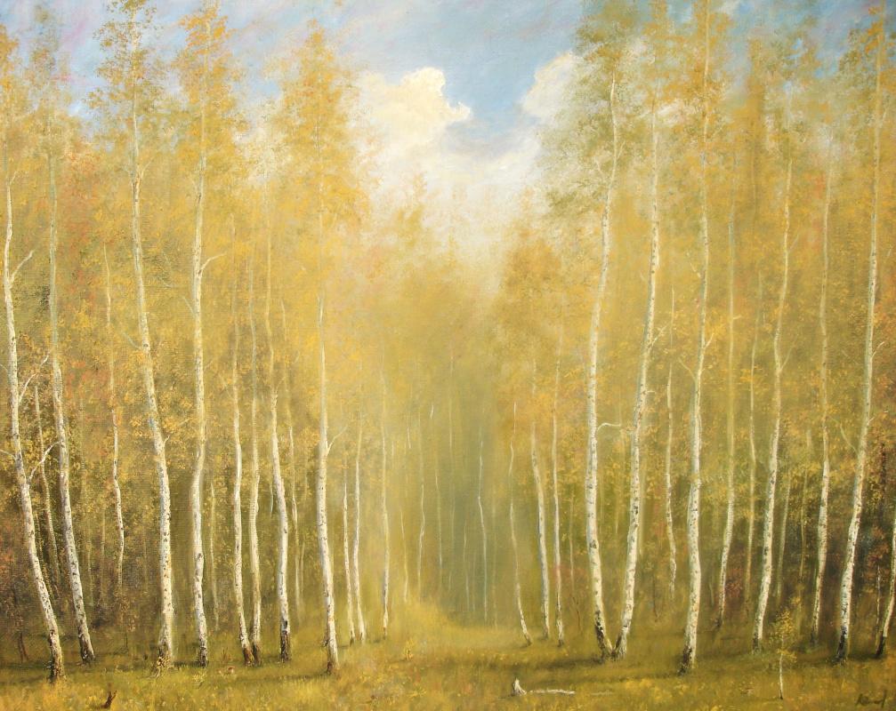 Alexander Sergeevich Terbushev.. Came mushroom season.