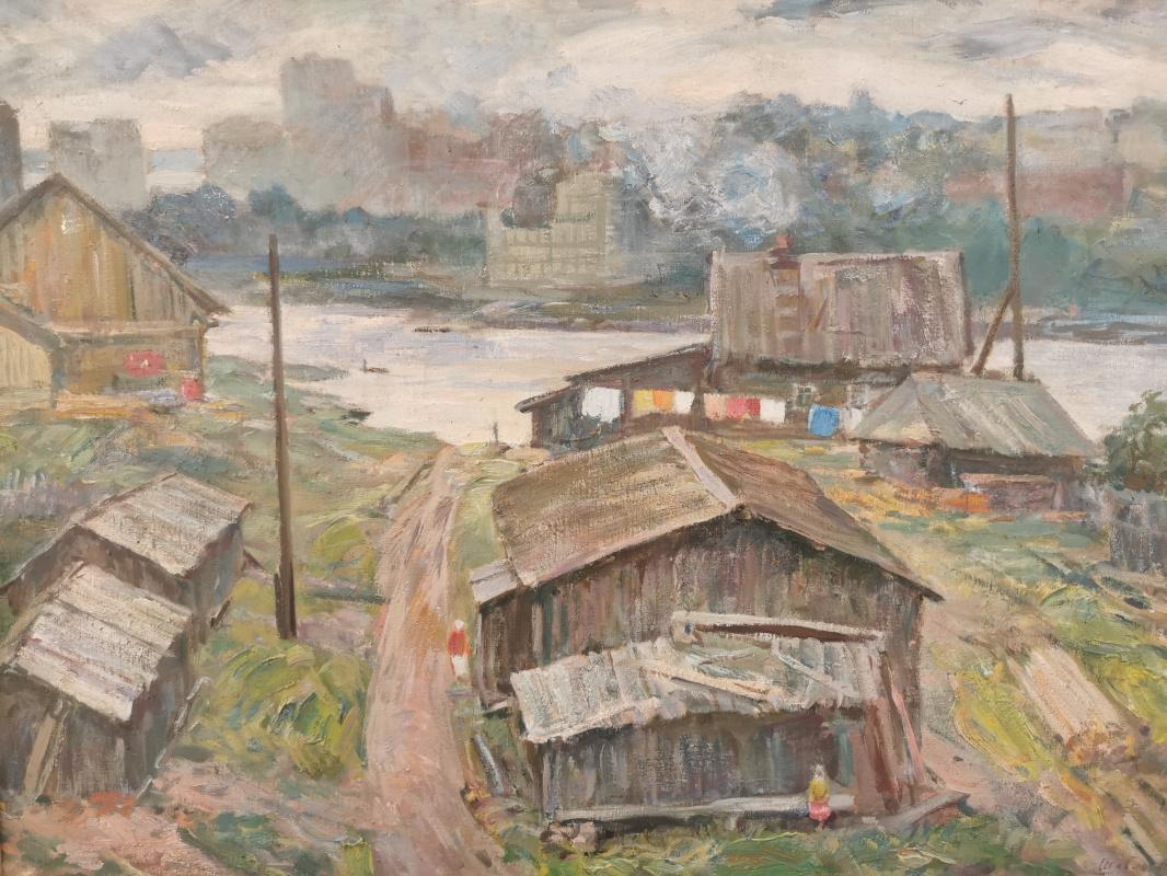 Yuri Mikhailovich Shablykin. By the river