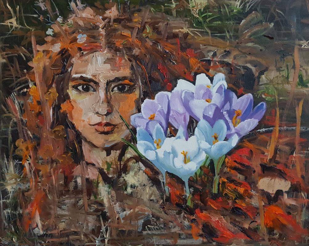 Julia Merkushina. Spring