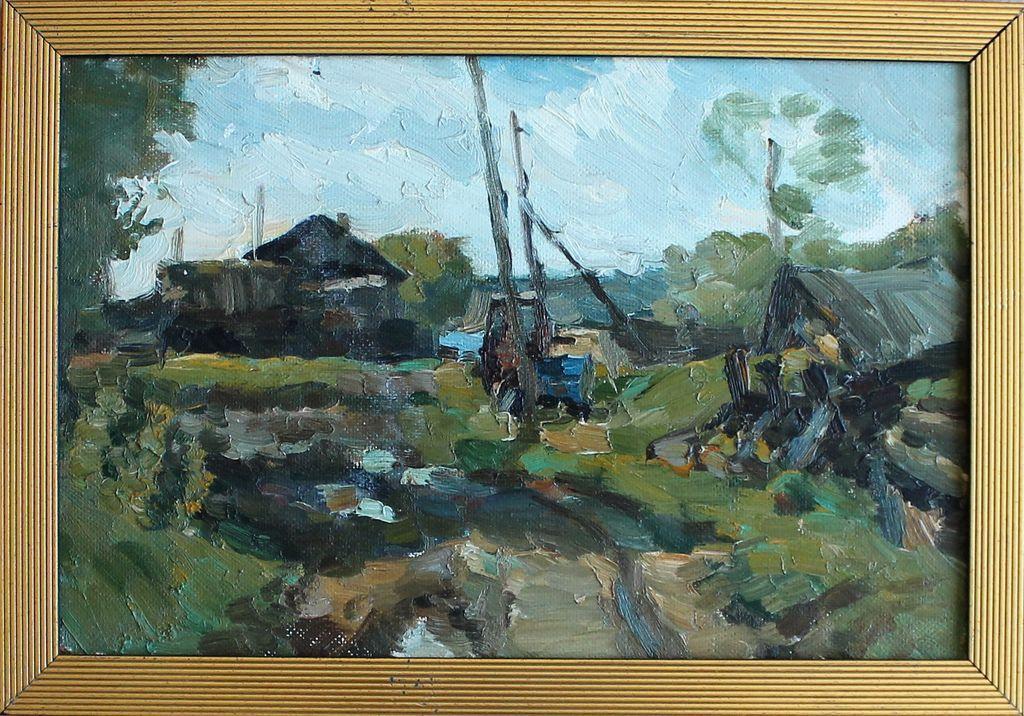 Alexander Alekseevich Murzin. Village Tot