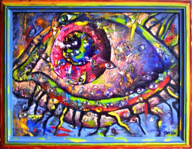 Kati Keberle. Eye