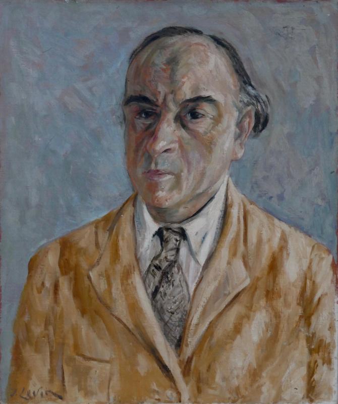 Иосиф Михайлович Левин. Автопортрет