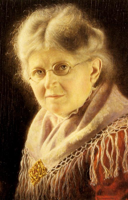 Карл Хойзер. Портрет бабушки