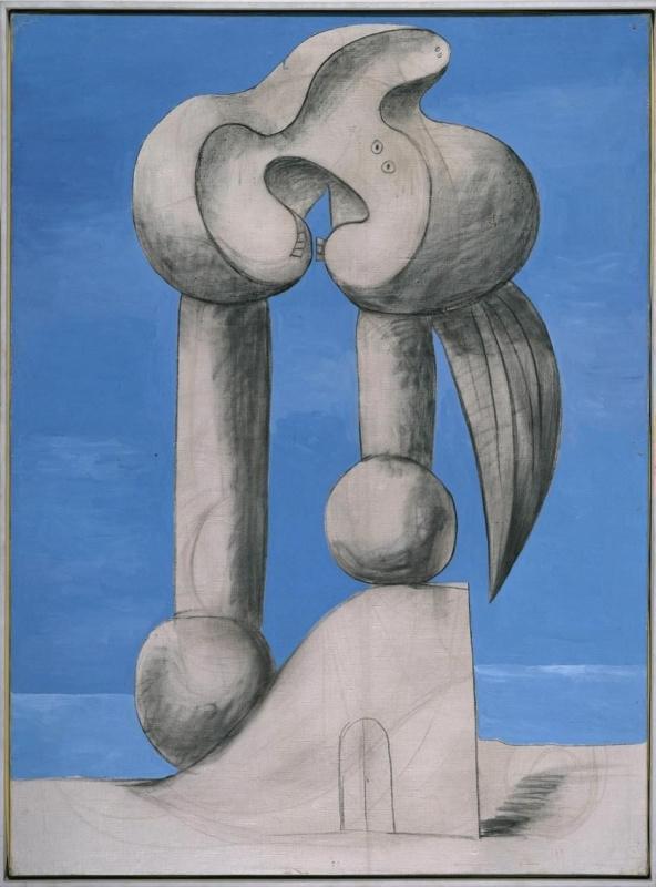 Пабло Пикассо. Фигуры у моря I