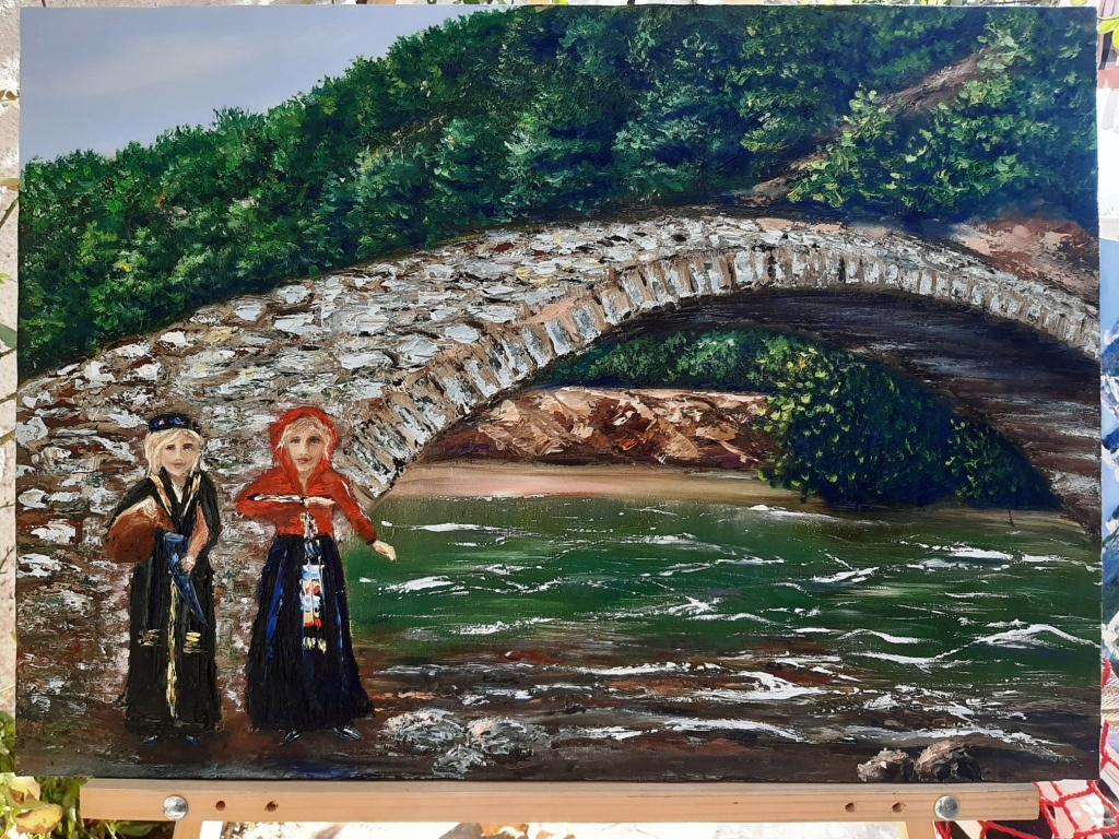 Natalia Serova. Mountain river