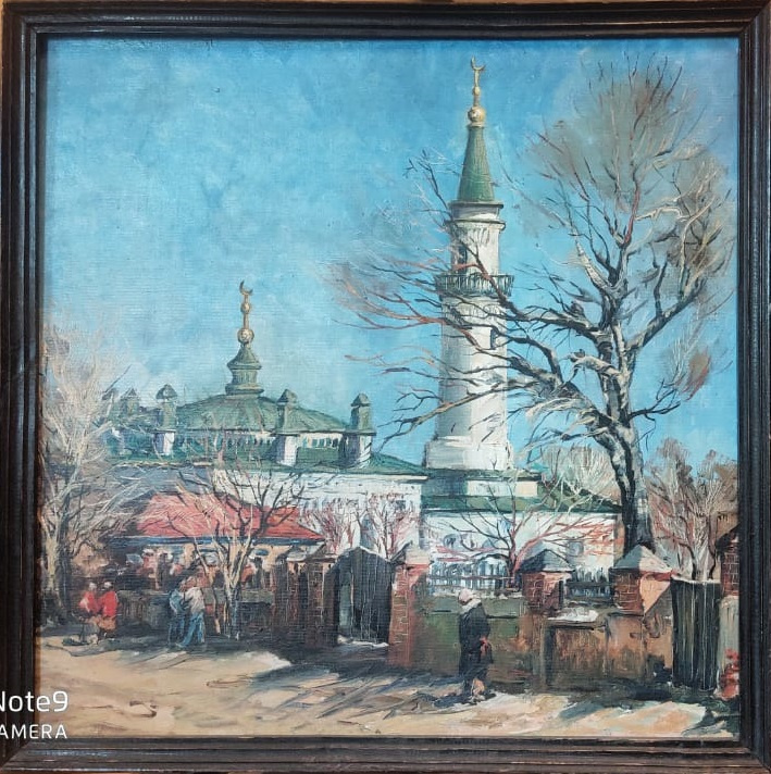 Ivan Vasilievich Solodukhin. Landscape mosque