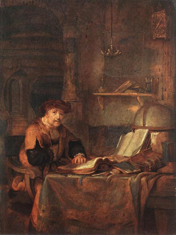 Гербранд ван ден Экхоут. Введение во храм