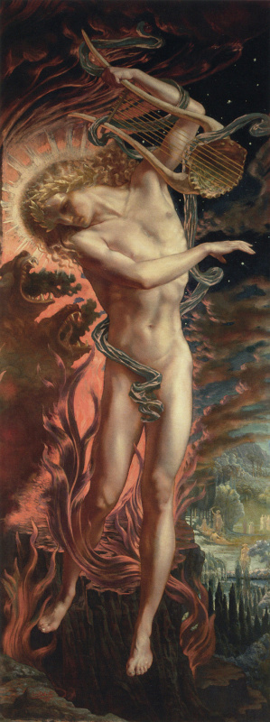 Jean Delville. Orpheus