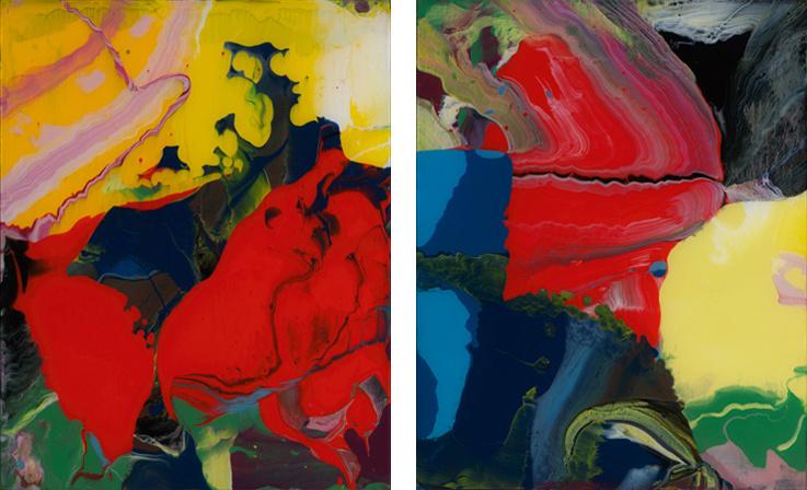 Gerhard Richter. Abstraction. Sinbad Series