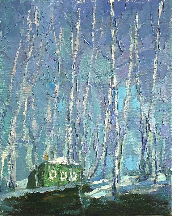 Михаил Рудник. Зелёный дом