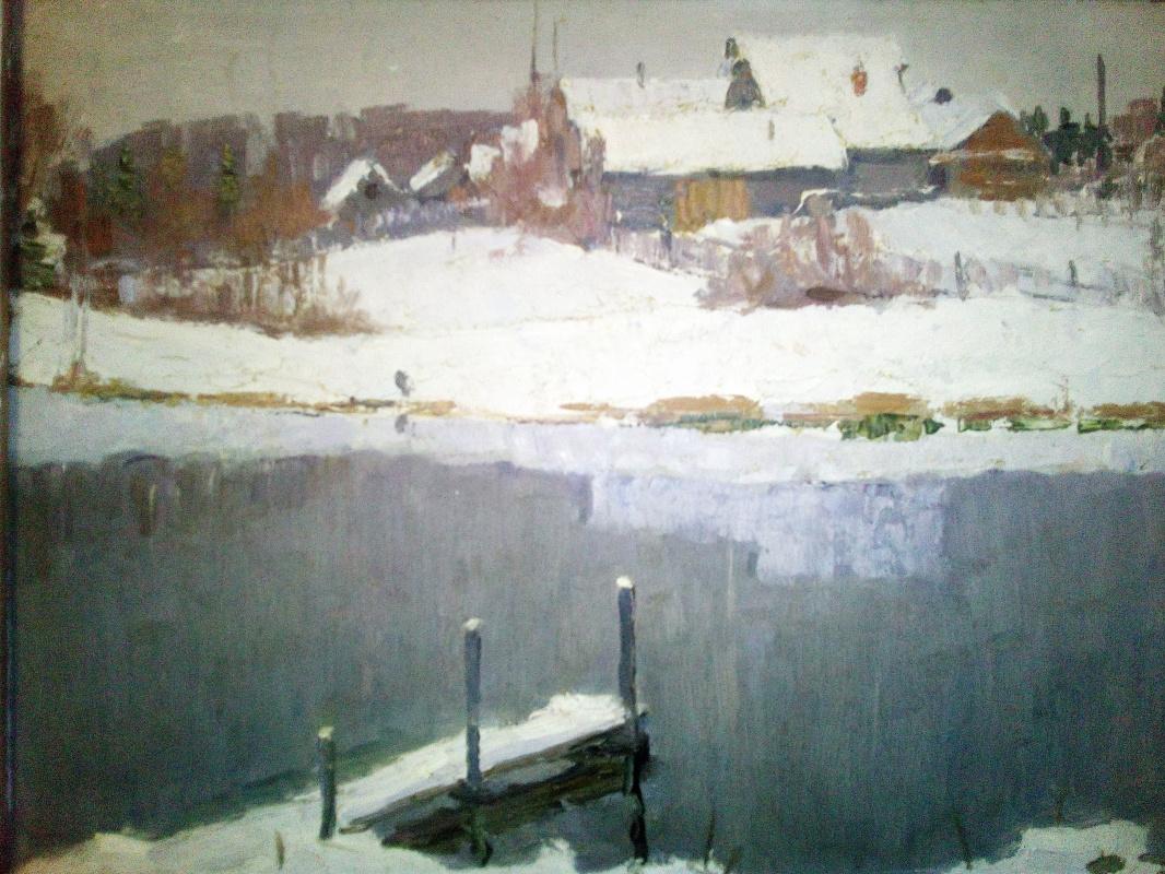 Boris Nikolaevich Loshkarev. First snow