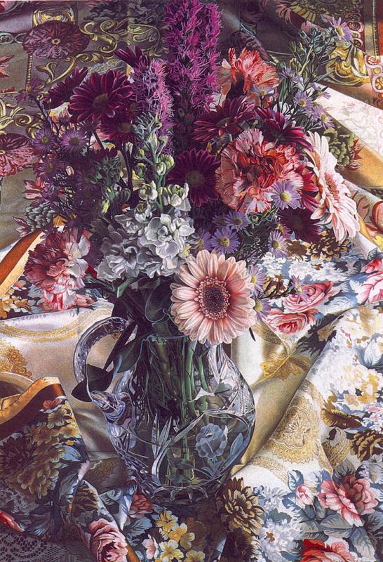 Барбара Едидин. Цветы