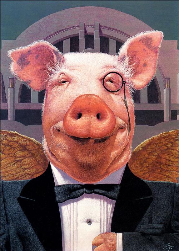 Christopher Fox Payne. Pig