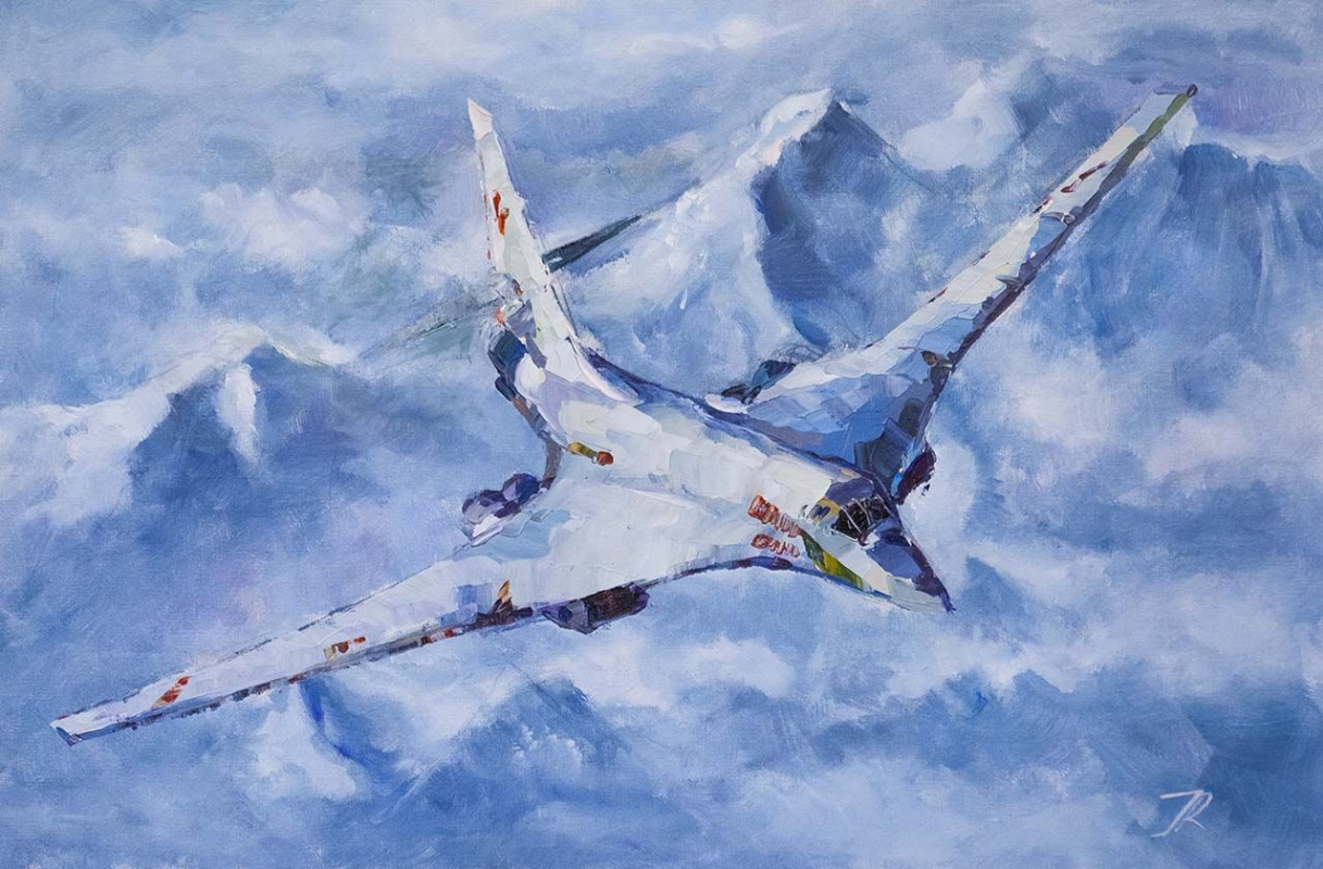 "Jose Rodriguez. White Swan. Tu-160. N2 Series ""Aircraft"""