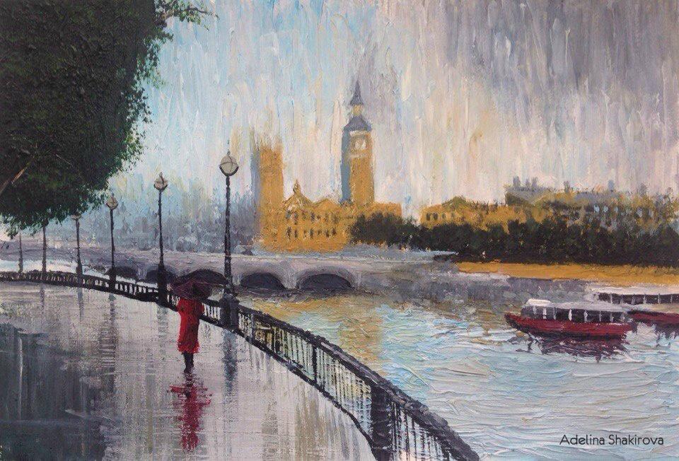 Adelina Shakirova. London