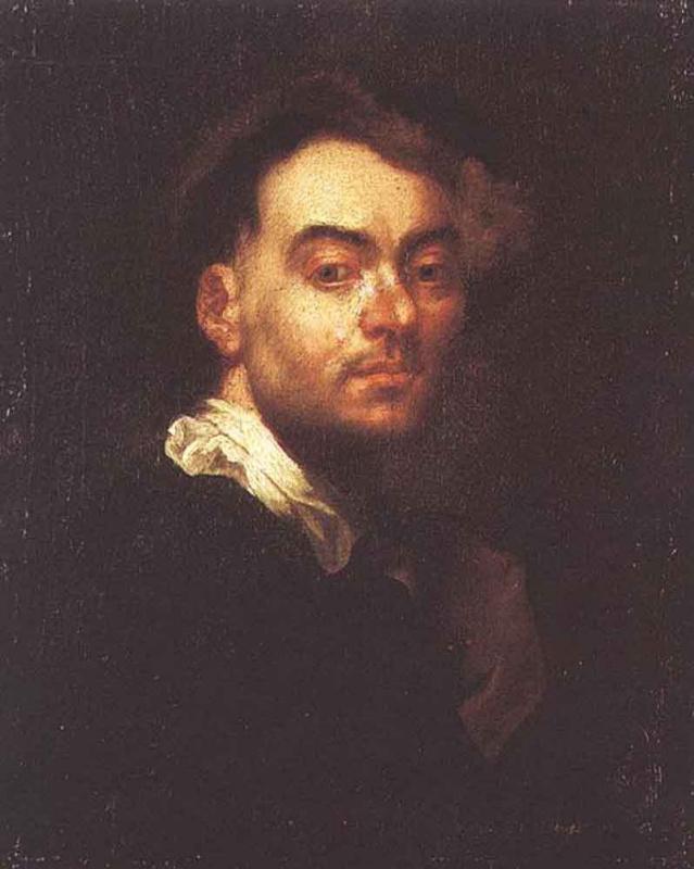 Иоганн Купецкий. Автопортрет