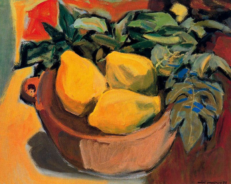 Miro Mayinou. Fruit bowl