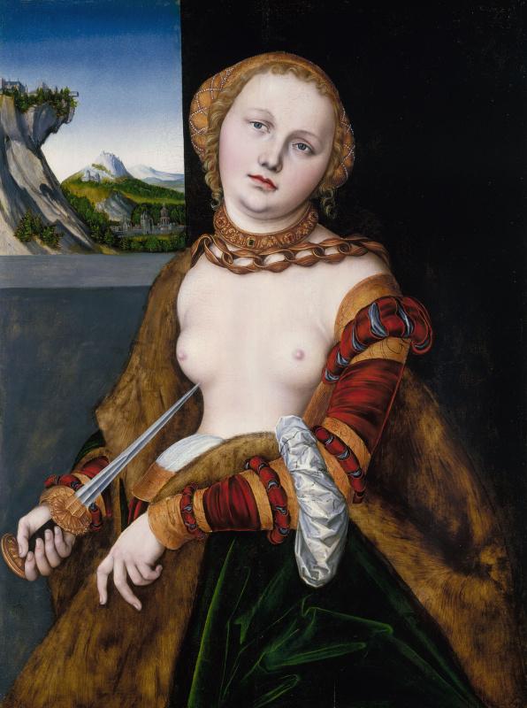 Lucas Cranach the Elder. Lucretia