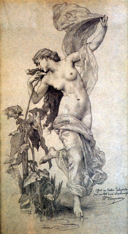 William-Adolphe Bouguereau. Aurora